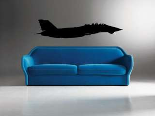 14 Tomcat Navy Military Fighter Jet Wall Vinyl Decal