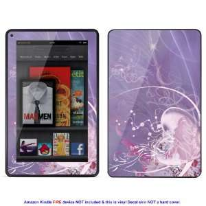 Skin sticker for  Kindle Fire case cover Kfire 644 Electronics