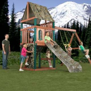 Swing N Slide Huntsman Wood Swing Set Outdoor Play