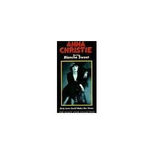 Anna Christie [VHS] Blanche Sweet Movies & TV