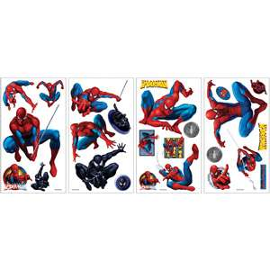 RoomMates Amazing Spider Man Peel and Stick Wall Decals