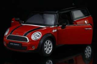 New 124 Mini Cooper Clubman Alloy Diecast Model Car With Sound&Light