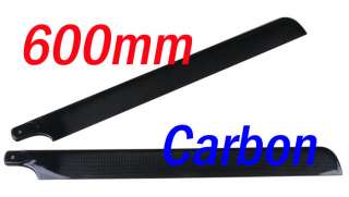 600MM Real Carbon Main Blade Kinetic 46 50 T REX 600 CF