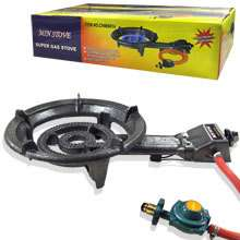PROPANE GAS OUTDOOR CAMPING BURNER STOVE TOP CAST IRON STOVETOP