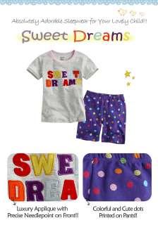 NWT Baby & Toddlers Sleepwear Pajama setSweet Dreams