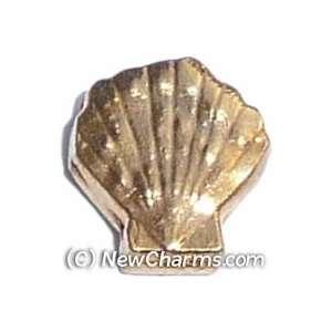 Sea Shell Floating Locket Charm