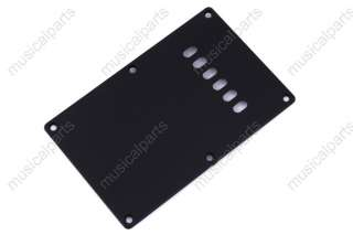 Black Guitar Cavity Cover plate for fender Stratocaster ETC