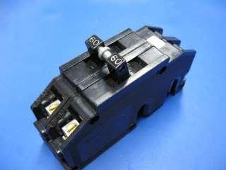 ZINSCO 60 Amp Double Pole Full Size BREAKER Type Q s