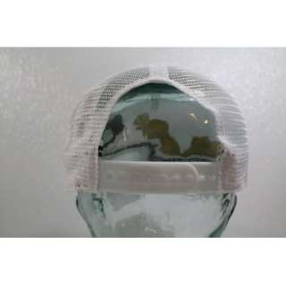 Armani Exchange A/X Hat Cap White Gold Eagle Logo Hat 100% Authentic