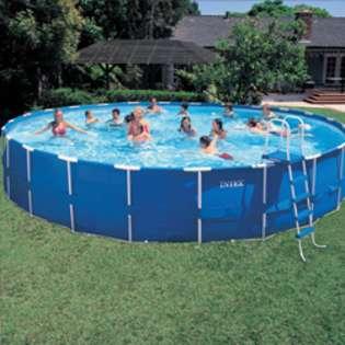 Round Intex Metal Frame Above Ground Pool Kit   42 Inch