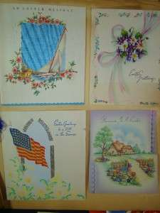 Huge Lot Antique 1000+ Vintage Greeting cards Christmas Children
