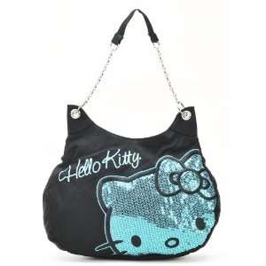 Sanrio Hello Kitty Disco Queen Sparkling Bling Bling Black with Light