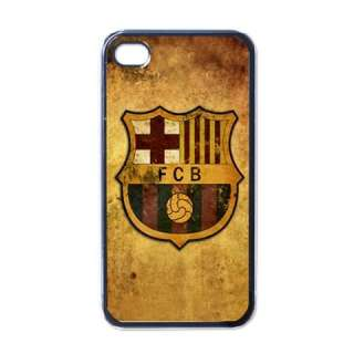 NEW iPhone 4 Hard Case Cover Barcelona Football Soccer