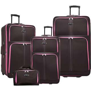 U.S. Traveler New Oregon 4 Piece Expandable Luggage Set