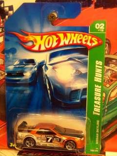 hot wheels 2007 #122 TREASURE HUNT NISSAN SKYLINE BL#10