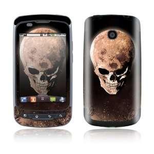 LG Phoenix / LG Thrive Decal Skin Sticker   Bad Moon