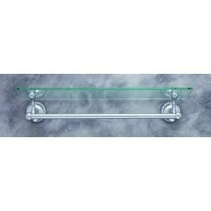 21411 Plain Polished Chrome Towel Bar Accessory