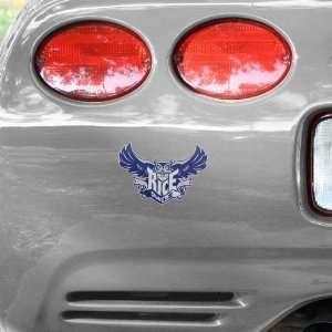 NCAA Rice Owls Team Logo Car Decal Automotive