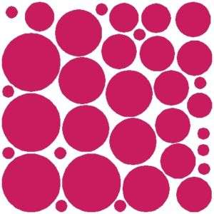 68 Polka Dots Wall Stickers Decals Art Removable Vinyl