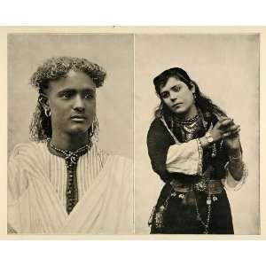 1893 Chicago Worlds Fair Nubian Boy Cairo Dancing Girl