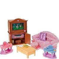 Fisher Price Loving Family Dollhouse Premium Decor Furniture Set
