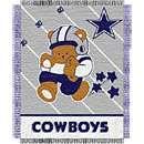 Northwest Dallas Cowboys Jacquard Baby Throw Blanket