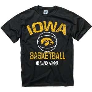 Iowa Hawkeyes Black Youth Ballin T Shirt