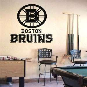 Wall Mural Vinyl Sticker Sports Logos Nhl boston Bruins (S510)