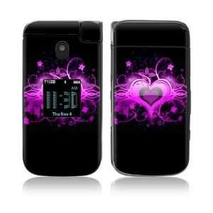 Samsung Zeal Skin   Glowing Love Heart