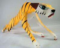 Tiger by Angel Ramirez Oaxacan Wood Carving