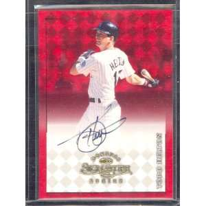 Donruss Signature Autographs Todd Helton Auto: Sports Collectibles