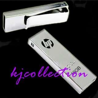 HP 16GB 16G USB Flash Drives Mirror Stick Clip v210w