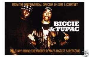 BIGGIE AND TUPAC RAP MUSIC POSTER notorious big