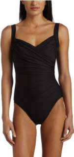 Miraclesuit Womens Sanibel One Piece Swim Suit Clothing