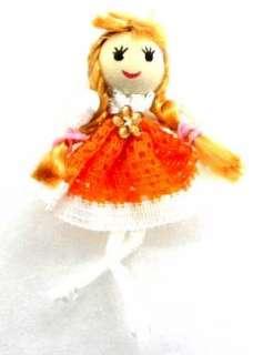 PCS LITTLE GIRL FANCY BRAID HAIR DOLL APPLIQUE M1268
