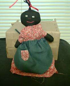 HOME MADE AFRICAN AMERICAN DOLL 7