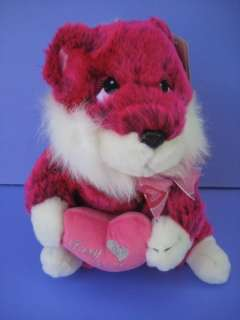 11 FOXY LADY Purple SQUIRREL DAN DEE Soft Plush Stuffed Animal