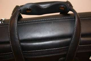 Reunion Blues LEATHER Tenor Sax Bag, Black, ZIP Pocket