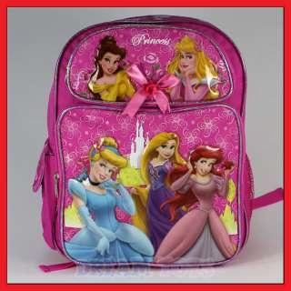 Disney The Princess Flower 14 Backpack Girls Tangled M