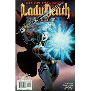 Lady Death: A Medieval Tale #10 (Ten):  Books