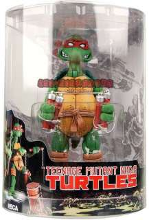 Teenage Mutant Ninja Turtles 5 Michelangelo Figure Tube Packing Box