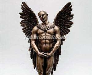 Heaven Sent Male Angel   Bronze Sculpture