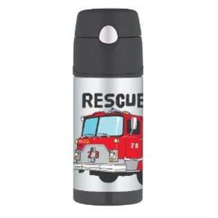 Thermos Funtainer Bottle, Firetruck
