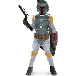 Star Wars Boba Fett Child Costume Small 4 6 Child (4 6