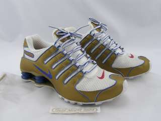 NIKE SHOX NZ Olympic Gold Medal Women's Shoes LIMITED EDITION Size 9