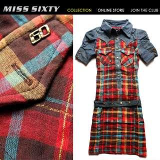 NEW HOT Slim Cute Denim MISS SIXTY Ladys Cool Dress