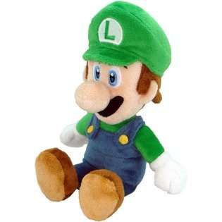 Super Mario Bros. Nintendo Super Mario Luigi 8 Plush (Japanese Import
