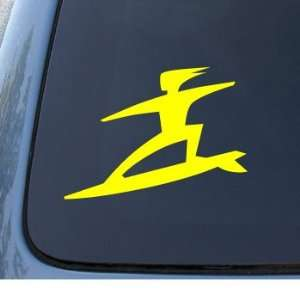 SURFER   Surf Board Dude   Car, Truck, Notebook, Vinyl Decal Sticker