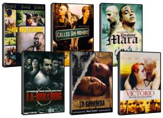 SIN NOMBRE / DESTINO MARA / LA BULLDOG / 6 DVDS GIFT SET   DVD NEW