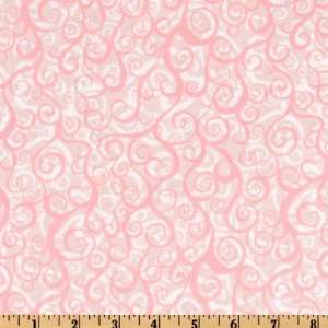 44 Wide Wild World Surf Carnation Fabric By The Yard